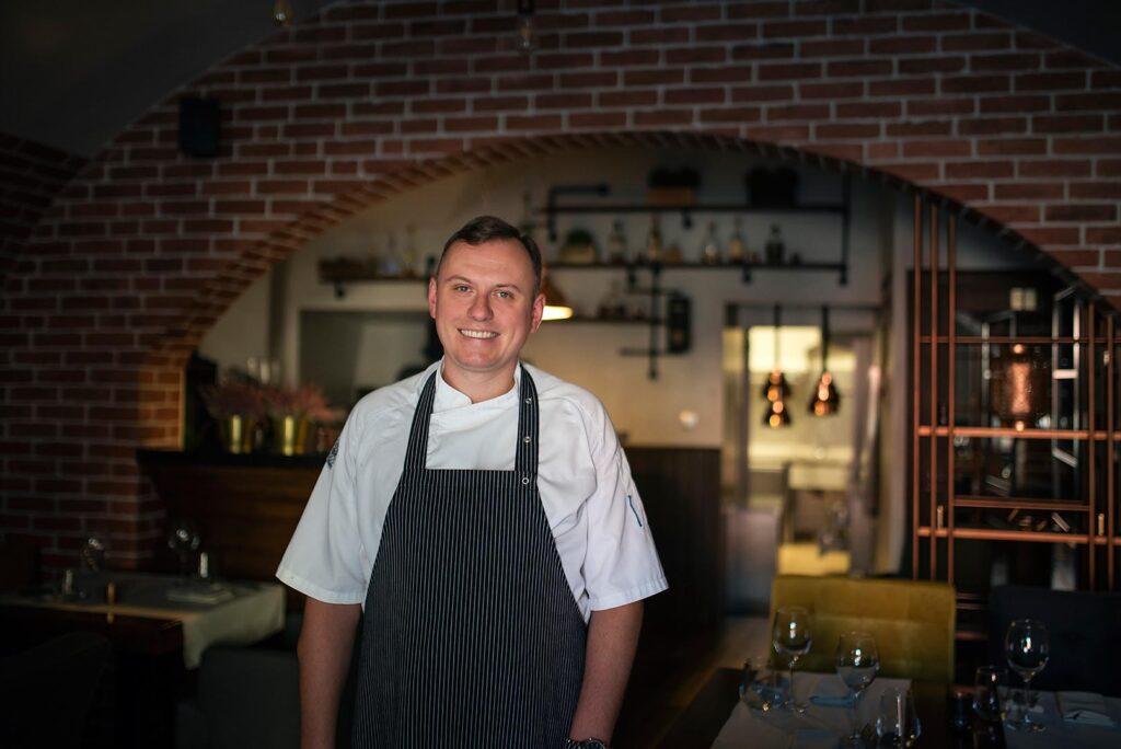 Właściciel i szef kuchni Chapter One