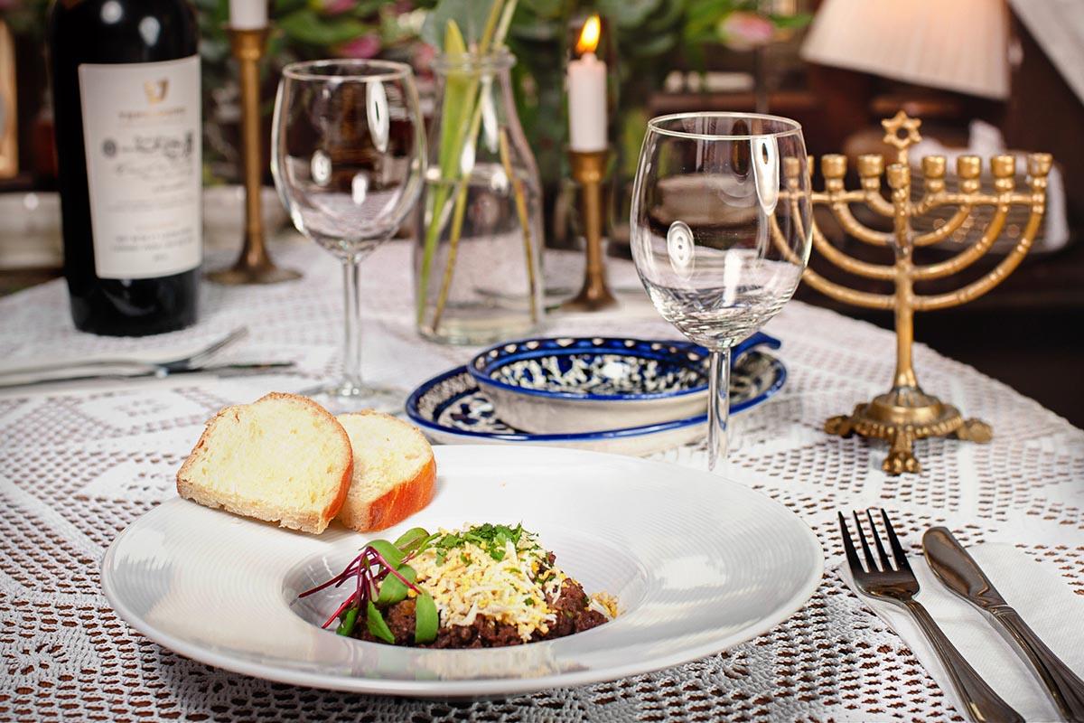 Restauracj a Mandragora, zbliżenie na danie
