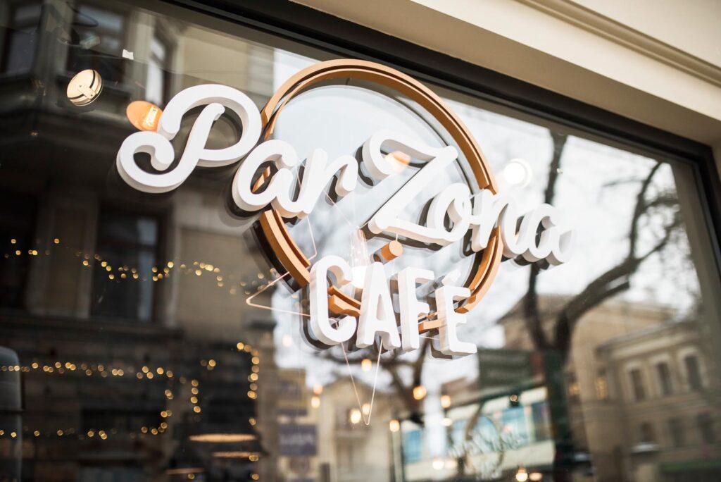 Szyld Par Zona Cafe