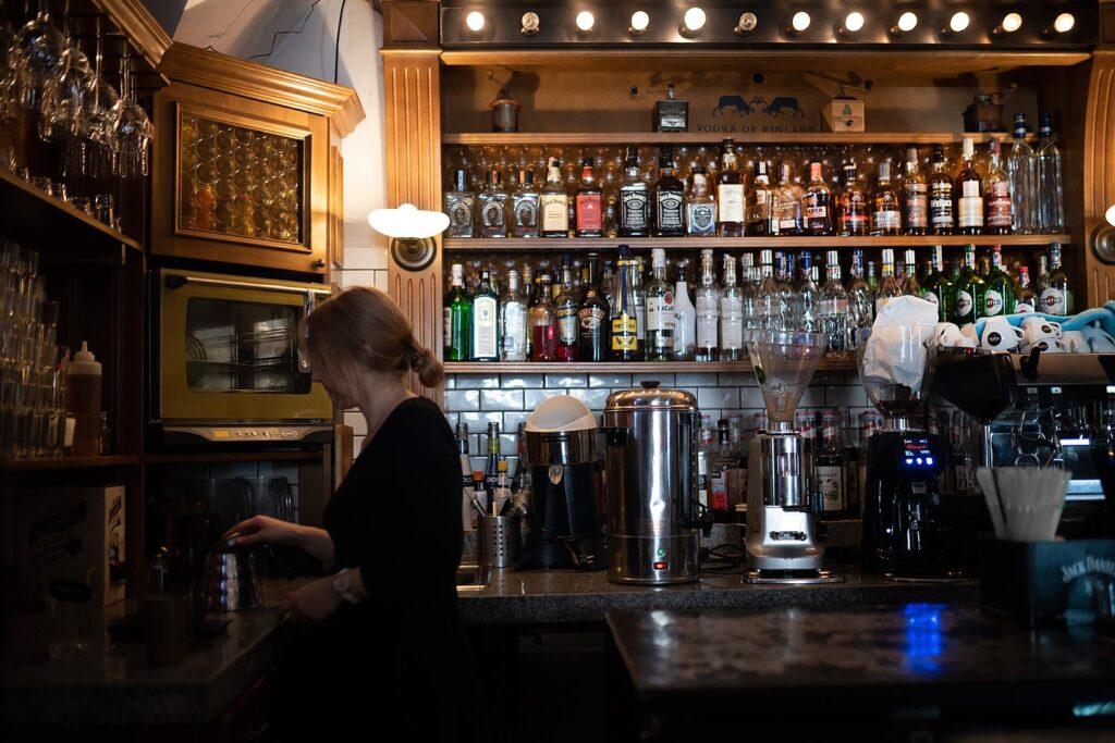 Wnętrze Trybunalska City Pub