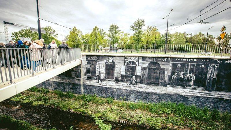 Mural przy Tarasach Zamkowych