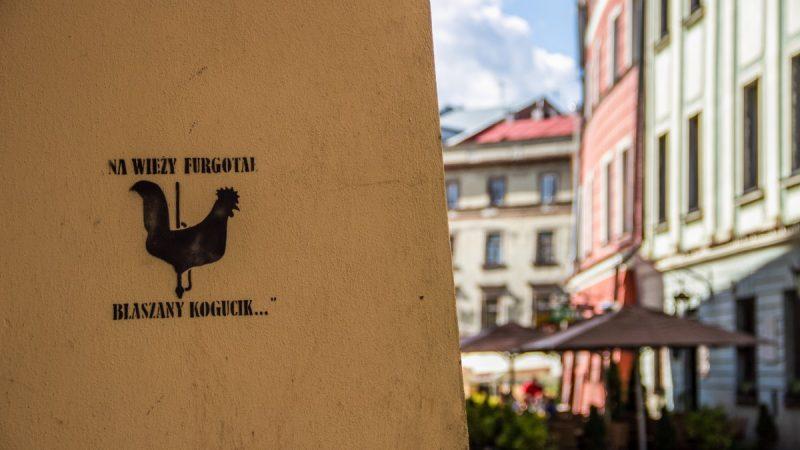Spacer z Czechowiczem