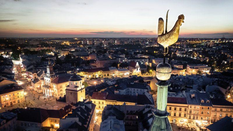 Kogucik na Wieży Trynitarskiej