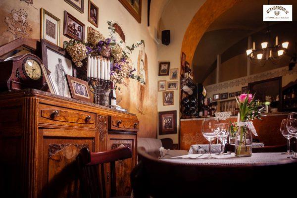 Wnętrze restauracji Mandragora