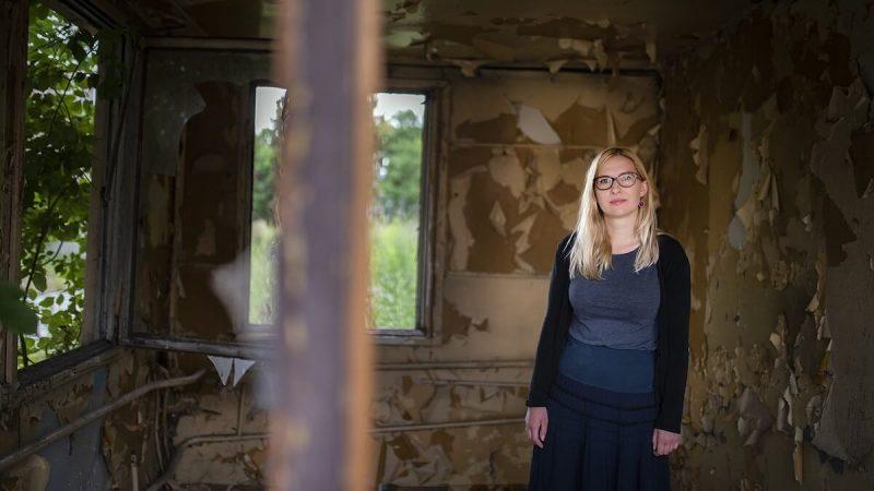 Magdalena Łuczyn, Przewodnik Inspiracji w opuszczonym budynku