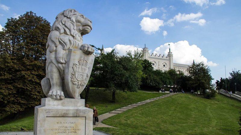 """Pomnik """"Symbol Lwowa"""" (związków ze Lwowem)"""