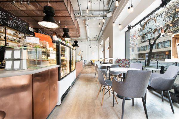 Inside of Par Zona Cafe