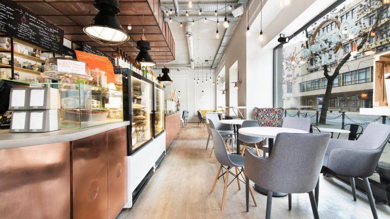 Wnętrze Par Zona Cafe