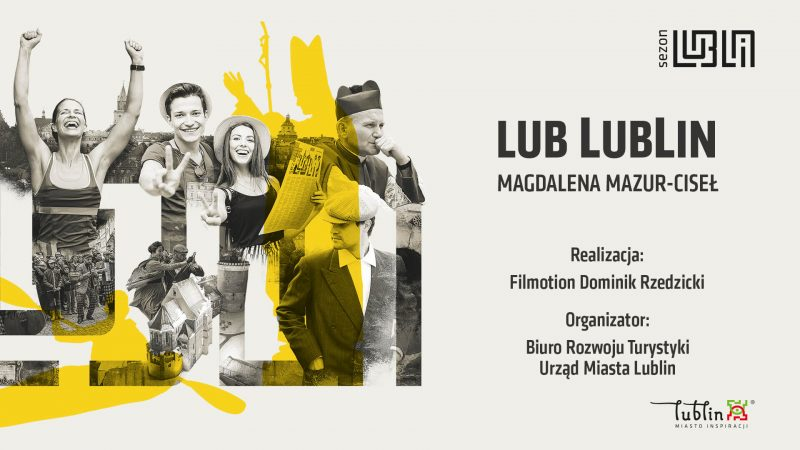 Plansza LubLublin Przewodnik po Lublinie - Magda Mazur-Ciseł