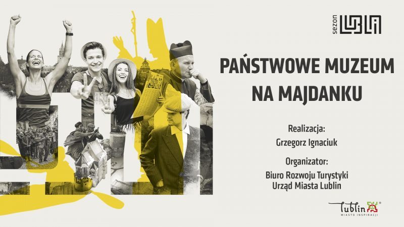 Plansza Państwowe Muzeum na Majdanku