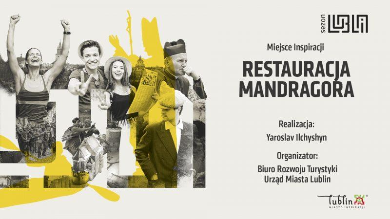 Plansza Restauracja Mandragora, restauracja żydowska