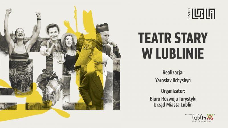 Plansza Teatr Stary w Lublinie