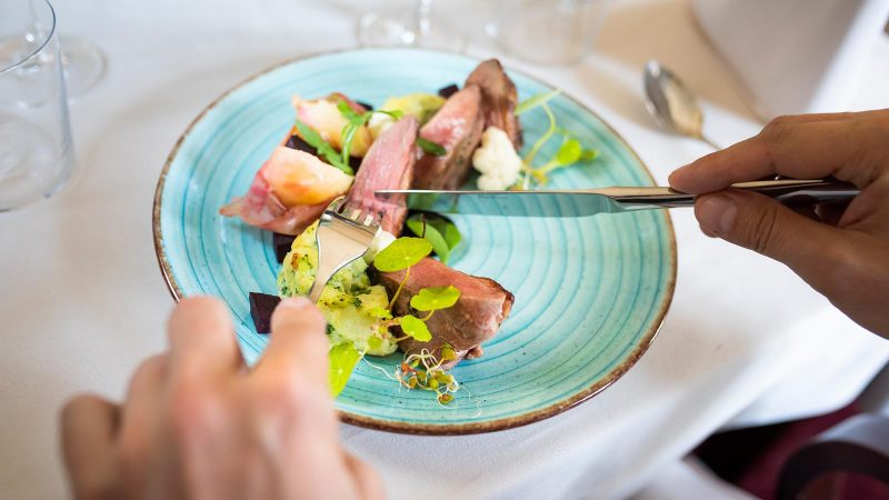 Danie w restauracji The Olive
