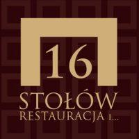 Logo restauracji 16 Stołów