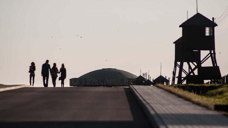 Państwowe Muzeum na Majdanku, widok na kopułę