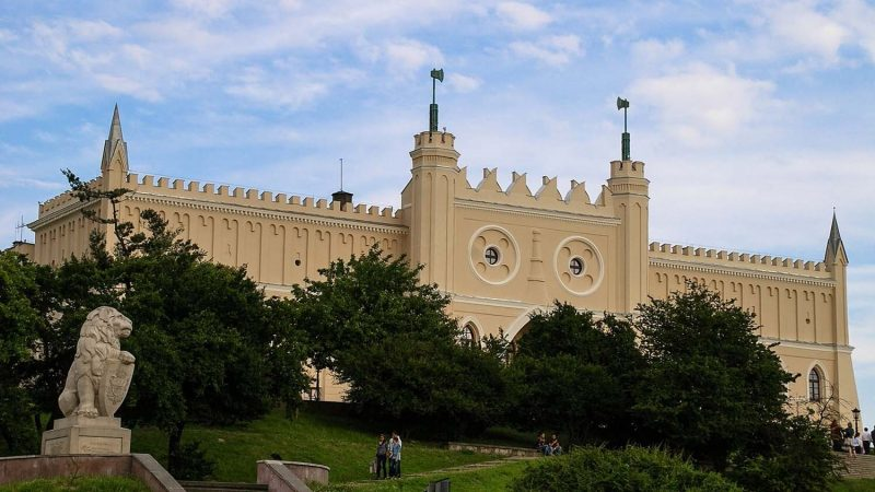 Zamek Lubelski, widok od al. Solidarności
