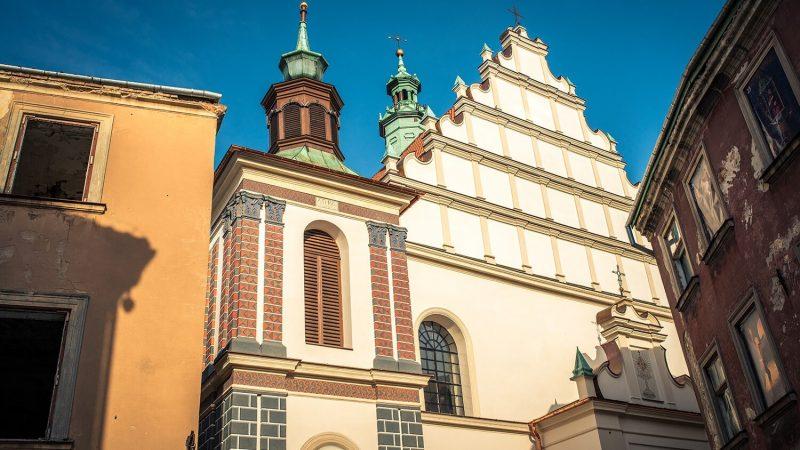 Fasada bazyliki oo. dominikanów