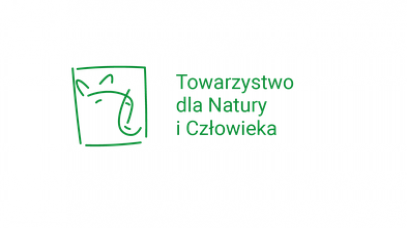 Logo Towarzystwa dla natury i człowieka