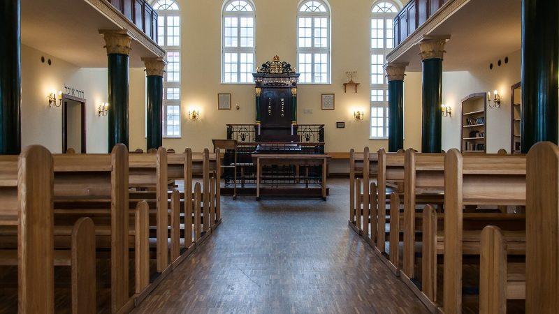 Jeszywas Chachmej Lublin, wnętrze synagogi